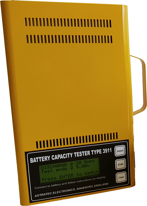 3911R -  12v lead acid Battery Tester. IDEAL FOR TESTING LEAD ACID GOLF TROLLEY BATTERIES ! APPROVED by Motocaddy.