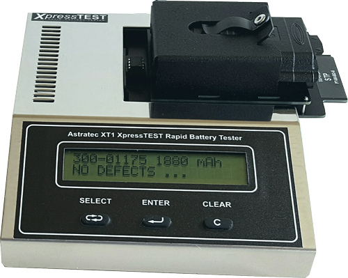 XT1/S -  Sepura Tetra radio  Battery Tester. FAST 10 SECOND TEST FOR SEPURA STP & SRH BATTERIES.  APPROVED by SEPURA.